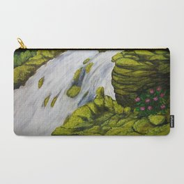 Mossy Waterfall Carry-All Pouch