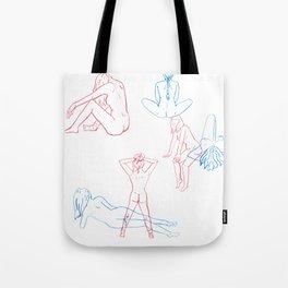 Women Folk Tote Bag