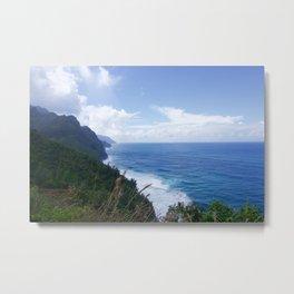 Na Pali Coast View Metal Print