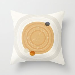 Saturn I Throw Pillow