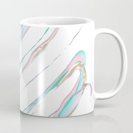 pastel doodle , colorful paint, handpainted pastel multicolor colorful Coffee Mug