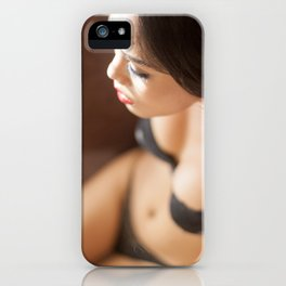 Ladyboy Isabella Relaxing in the Sunlight iPhone Case