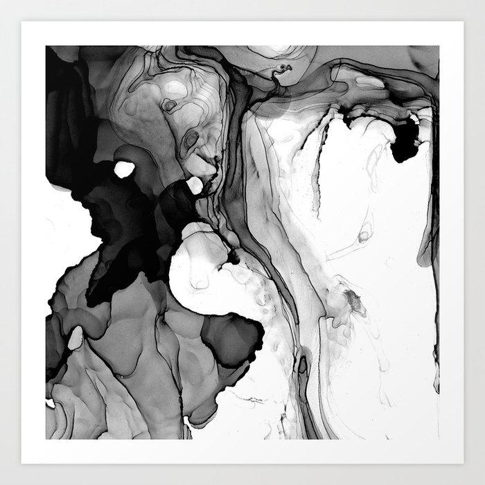 Soft Black Marble Kunstdrucke