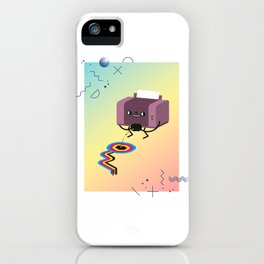 Printer Pee iPhone Case