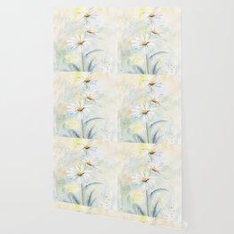 White Daisies Wallpaper
