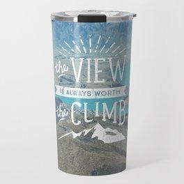 WORTH THE CLIMB Travel Mug