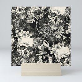 SKULLS HALLOWEEN SKULL Mini Art Print