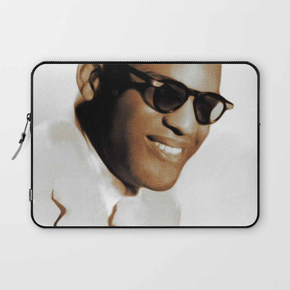 Ray Charles, Music Legend Laptop Sleeve LSV8697553