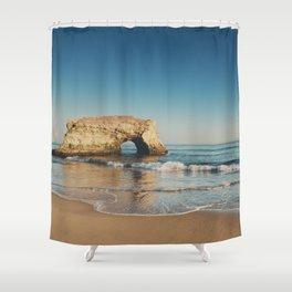 Natural Bridges State Beach ... Shower Curtain