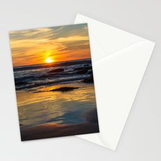 Sunset on Whipsiderry Beach Stationery Cards