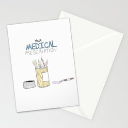 Medical Prescription Stationery Cards