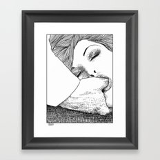 asc 28 - L'invitation Framed Art Print