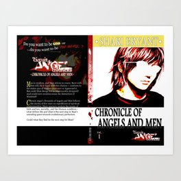Chronicle of Angels and Men Full Cover Art Art Print