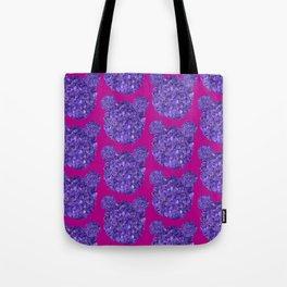 Lilac bears Tote Bag