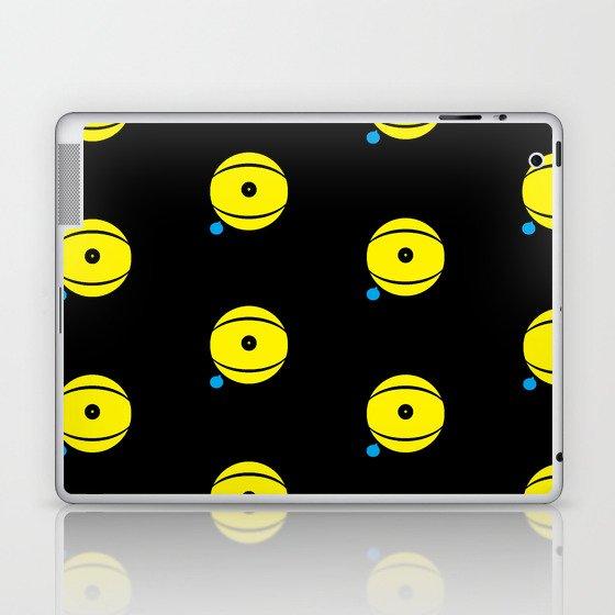 lazy eye Laptop & iPad Skin