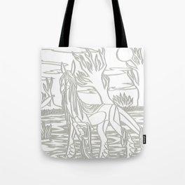 Kelpie Lines Tote Bag