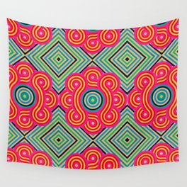 Cosmic Vibrations Within Wall Tapestry