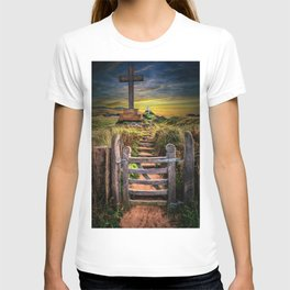 Gate to the Holy Island T-shirt