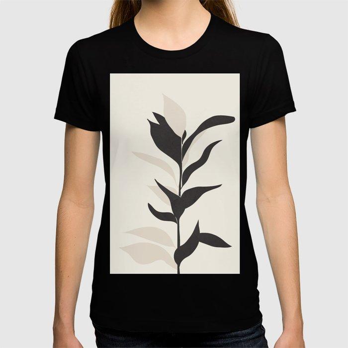 Abstract Minimal Plant T-shirt