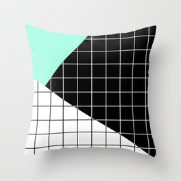 Minimal Geometry II Throw Pillow