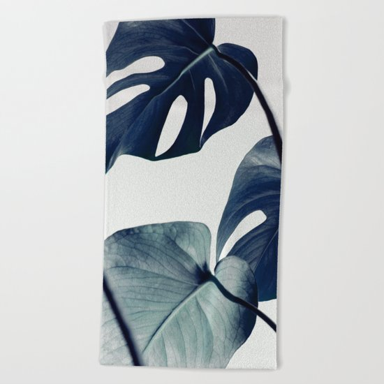botanical vibes II Beach Towel