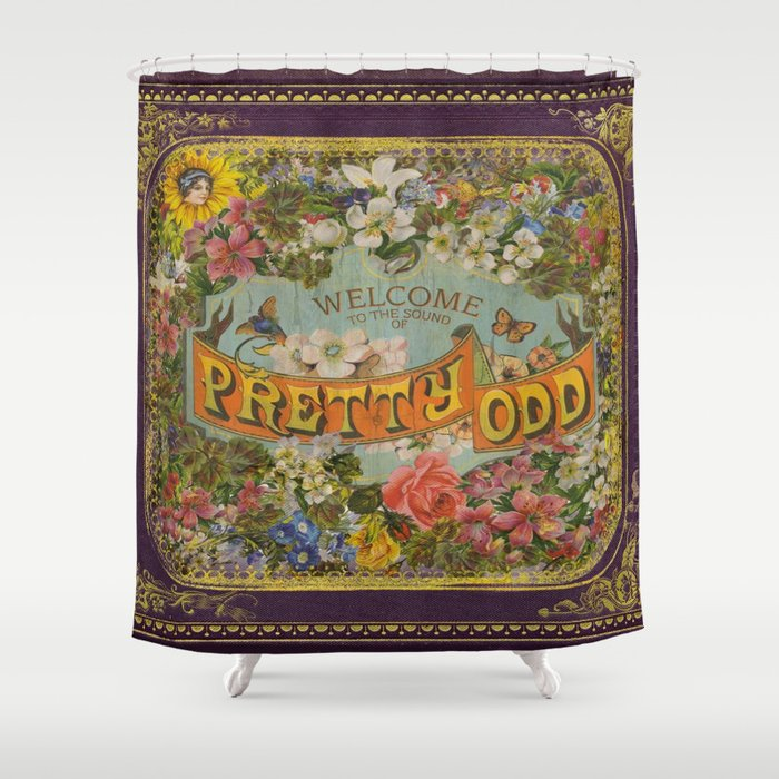 Pretty Odd Shower Curtain By Prettyoddeva