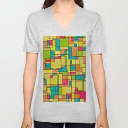 Square Club Unisex V-Neck