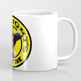 Allmight Boku No Hero My Hero Academia Golds gym Coffee Mug