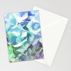 Hydrangea in a Pastel Light Stationery Cards