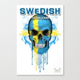 To The Core Collection: Sweden Canvas Print