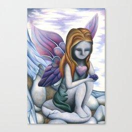 Mute Fairy Canvas Print