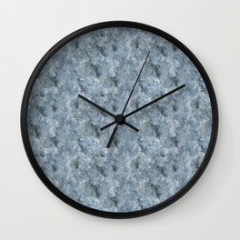 Light Blue Celestite Close-Up Crystal Wall Clock
