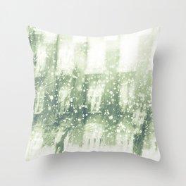 Winter city Throw Pillow