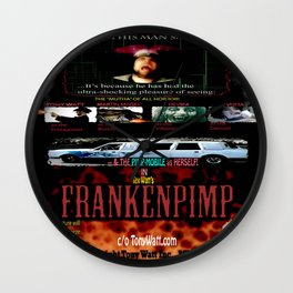 Frankenpimp (2009 ) - 'Original Worldwide Movie Poster' Wall Clock
