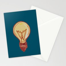 light bulb Stationery Cards