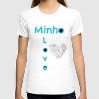 shinee T-shirts featuring Minho - SHINee Edited Made By Laylalu Celis by The LaylaWho Shop