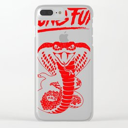 Kung Fury Clear iPhone Case