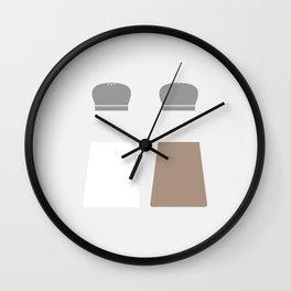 #36 Salt and Pepper Wall Clock