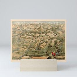 Map Of Afghanistan 1910 Mini Art Print