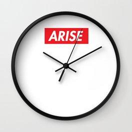 Arise Wall Clock