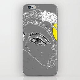 Mask on moonlight iPhone Skin
