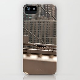 Geometric City iPhone Case