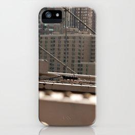Geometric City iPhone Case