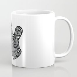 Micky Mouse Hand Coffee Mug