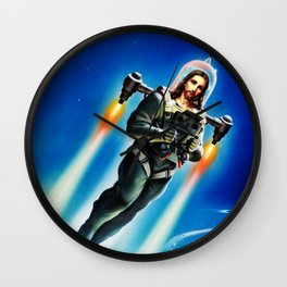 Cosmic Christ Wall Clock