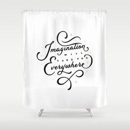 Imagination Shower Curtain
