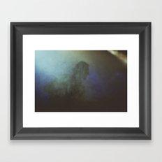 lost in the fog Framed Art Print