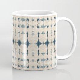 Shibori Soundwaves Coffee Mug