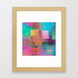 august adored Framed Art Print