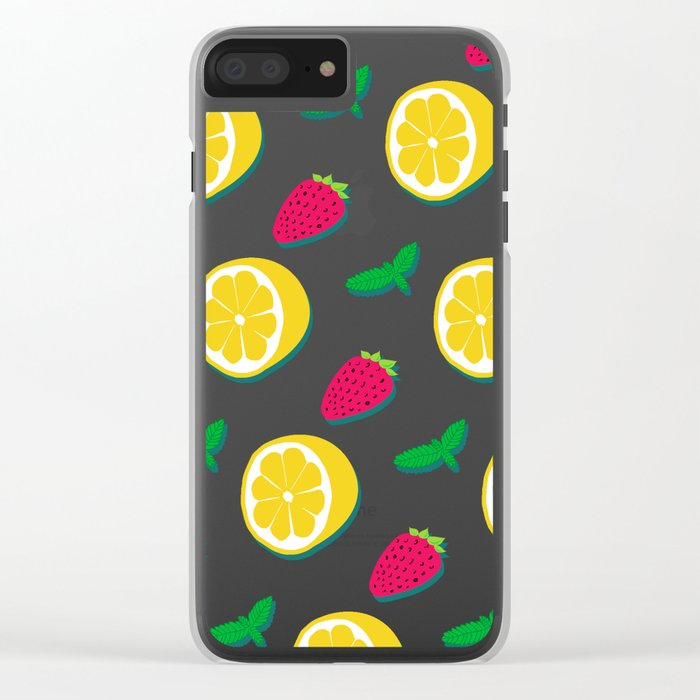 Fruit Party #society6 #decor #buyart Clear iPhone Case